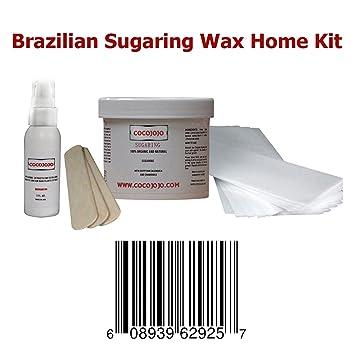8 Oz Cocojojo Sugaring Brazilian Sugaring Wax Kit - Sugaring Hair Removal -  8 Oz Sugar Wax - 2