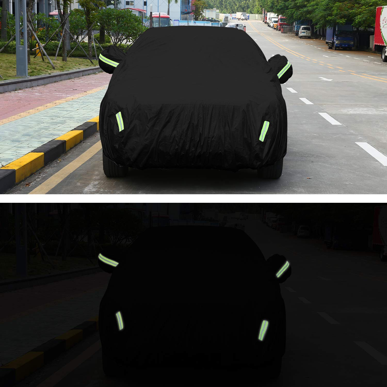 Impermeable Ajuste Universal Cubierta para Coche para SUV Exterior 530x200x150cm/_2 Anti-UV Transpirable Resistente a Lluvia//Nieve//Polvo Funda para Coche