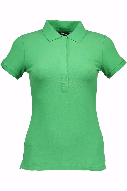 Gant 1001.409403 Polo con Las Mangas Cortas Mujer Verde 328 XS ...