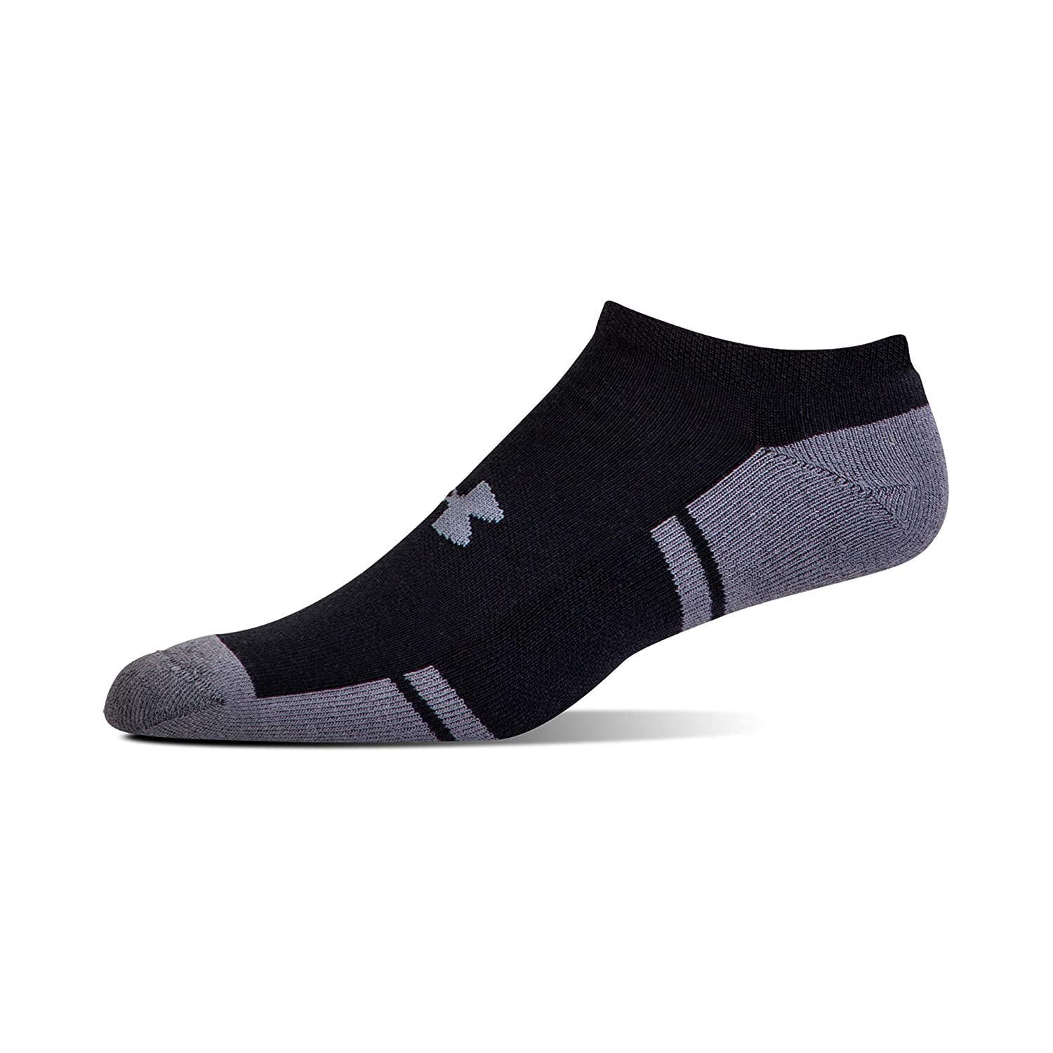 6 Pairs Under Armour Adult Resistor 3.0 No Show Socks