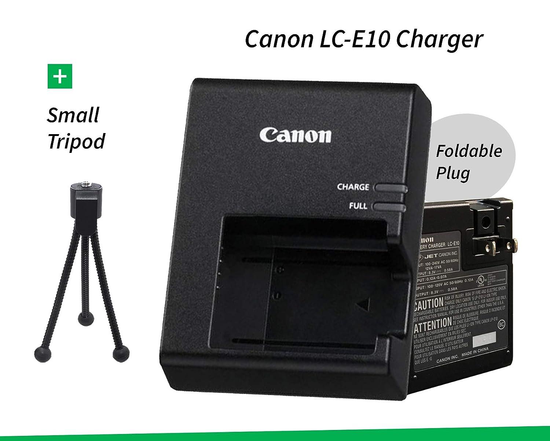 Amazon.com: LC-E10 Cargador de batería para Canon LP-E10 ...