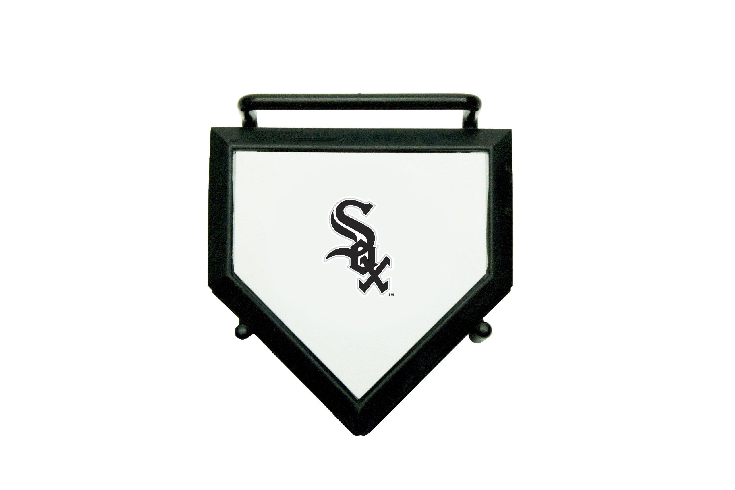 MLB Chicago White Sox Home Plate 4-pack Coaster Set
