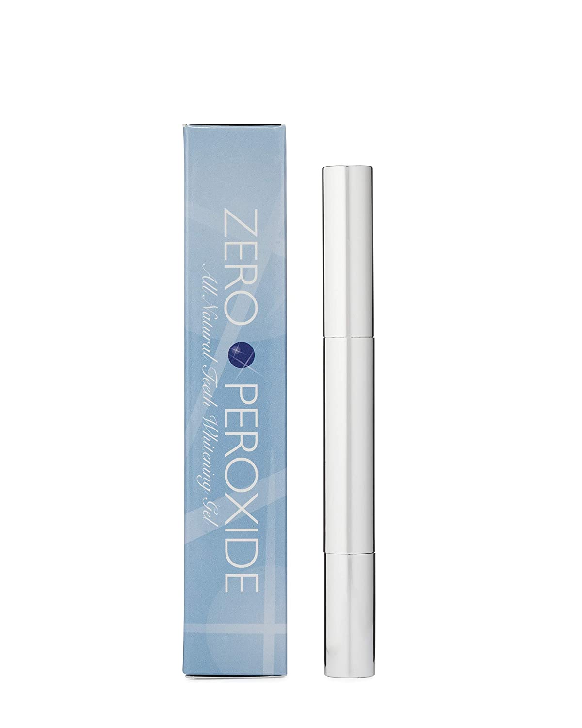 Zero Peroxide Teeth Whitening Pen, Natural Teeth Whitening Gel, Instant Professional Results, Made in USA, No Sensitivity, 2mL