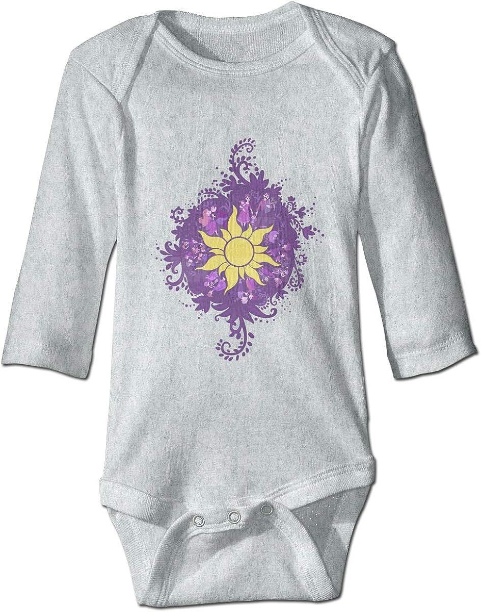 Amazon Com Tangled Sun Symbol Newborn Infant Toddler Baby Girls Boys Bodysuit Long Sleeve 0 24 Monthsgray Clothing