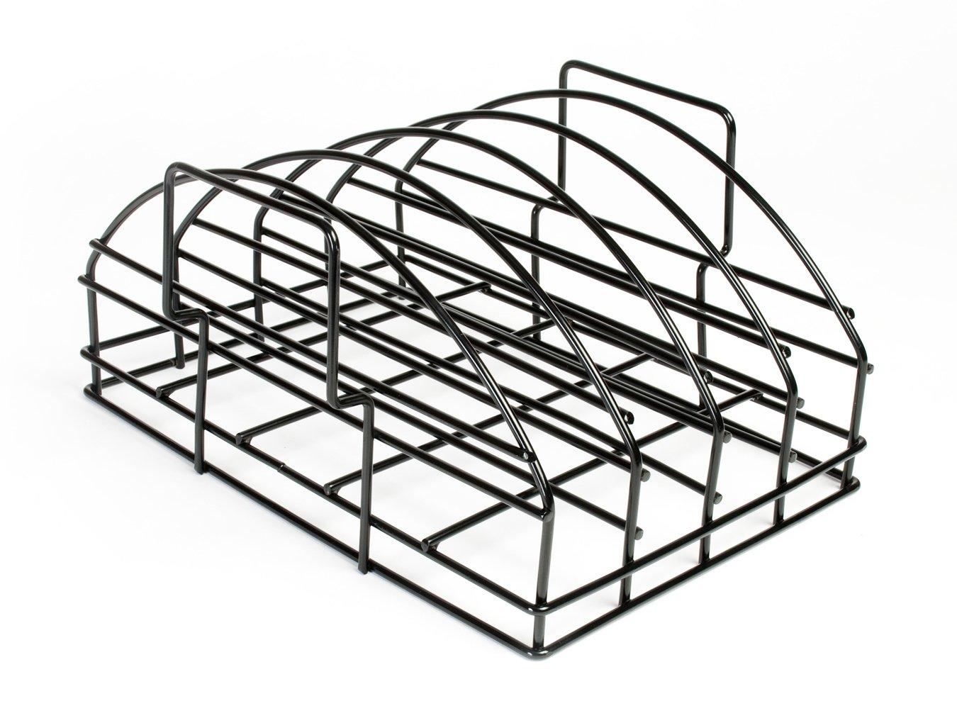 Steven Raichlen SR8017 Non-Stick Ultimate Rib Rack Charcoal Companion