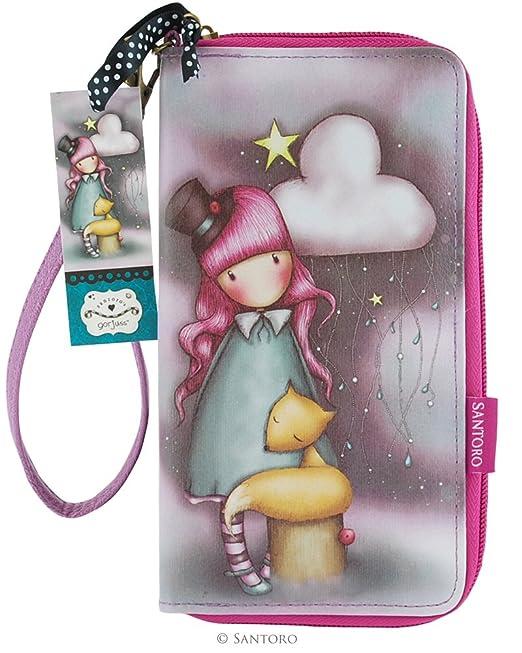 SANTORO GORJUSS - Cartera para mujer Bold Pink and Purple.: Amazon.es: Ropa y accesorios