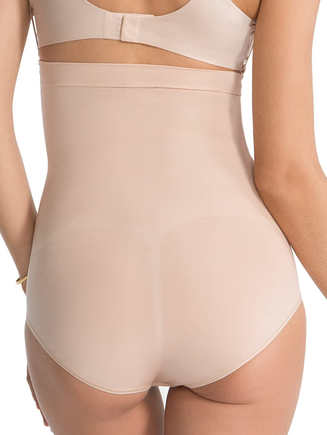Spanx Slimming Shapewear 'On Core' Sculpt, High Waisted Brief, BYOB, Very Black or Soft Nude