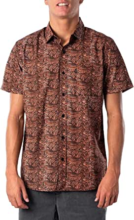 Rip Curl Men's BARRELSNAKE S/S Shirt
