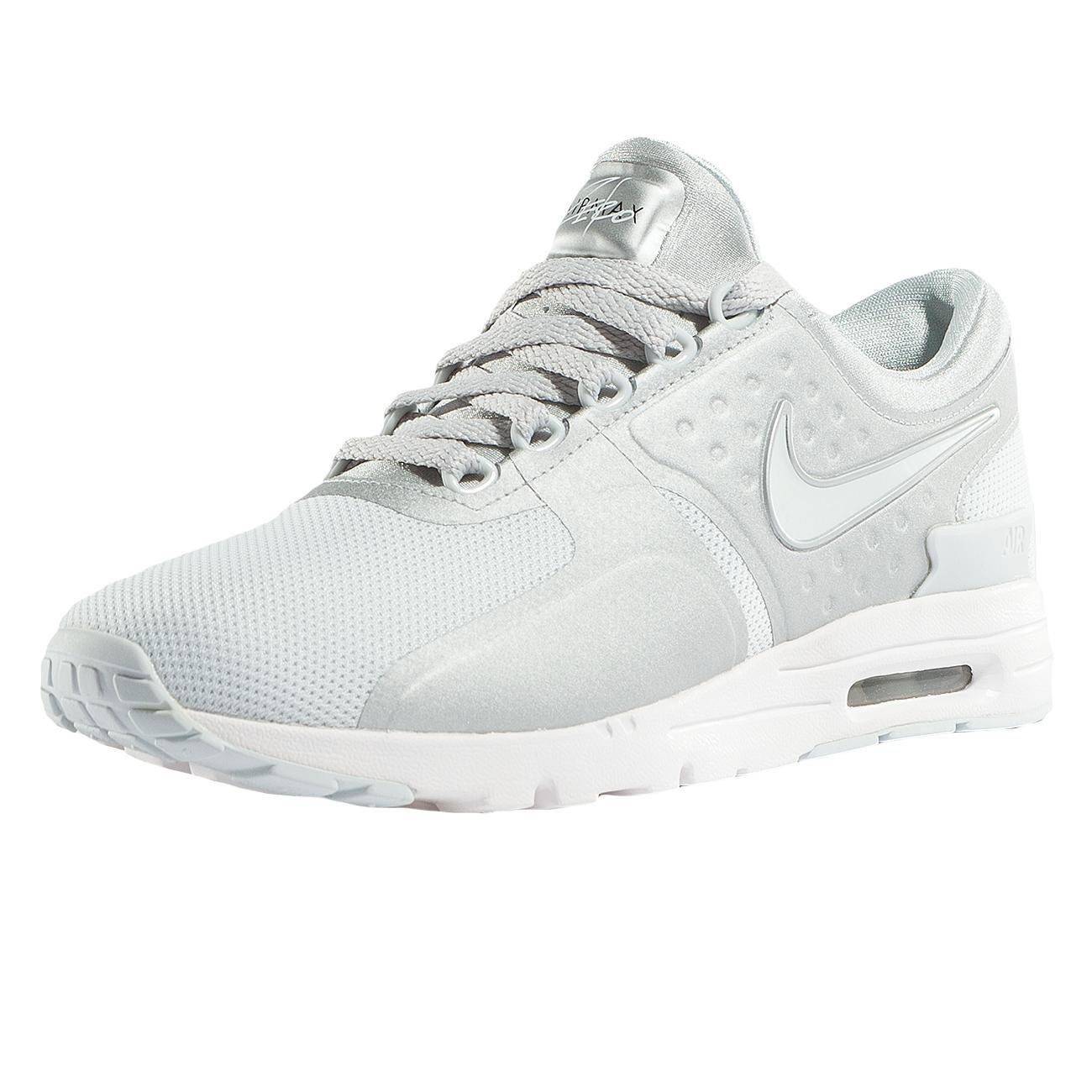 best sneakers 626a1 e8ea3 Galleon - NIKE Air Max Zero Women s Running Shoes, Pure Platinum Pure  Platinum, 10 B(M) US