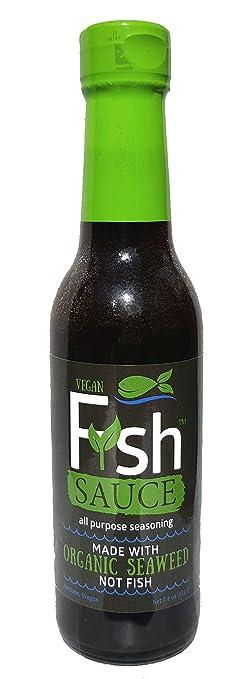 Tofuna Fysh Vegano Fysh Sauce (salsa de pescado vegano Hecho con alga marina) 1 Bottle: Amazon.es: Alimentación y bebidas