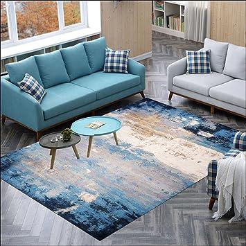 Nordic Modern Style Ink Art Pferd Muster Teppiche, Couchtisch Sofa Teppich, Wohnzimmer  Schlafzimmer Nachttisch