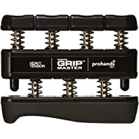 Gripmaster Hand Exerciser, Unisex-Adult, 14003-BLK, Black, Heavy Tension (9-Pounds per Finger), 9 pounds