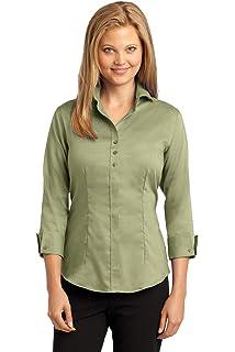 33fe40e9 Red House Women's Herringbone Non Iron Button Down Shirt at Amazon ...