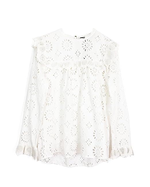 Zara Camisas - para Mujer Weiß XXL