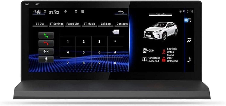 Estéreo del Coche androide, Navi Lexus NX 200T 300H 2014-2018 Cabo GPS Unidad USB Espejo Sistema de navegación Wi-Fi BT SWC 4G inalámbrica integrada carplay,Un 2014-2017