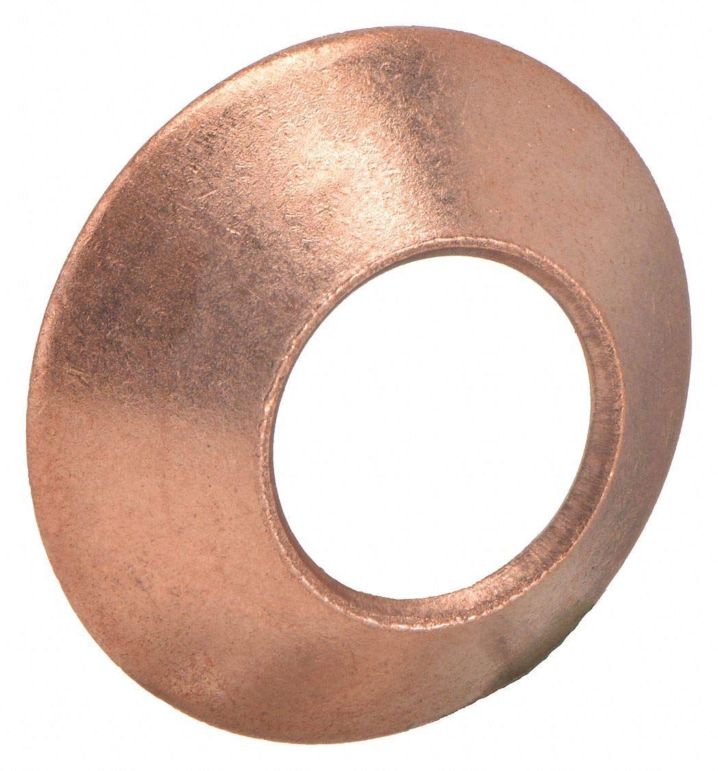 45 Degree Copper Flare Fitting Parker Hannifin 2GF-6 Flare Gasket 3//8 Tube Size
