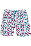 Tipsy Elves Men's Lightweight Summer Board Shorts - Short Swim Trunks for Men