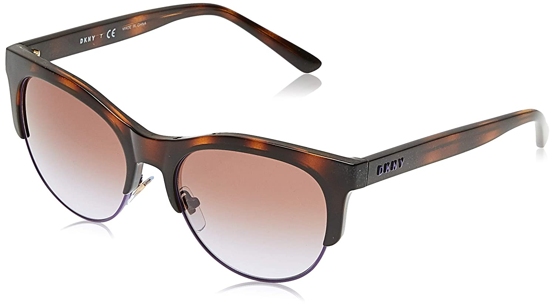 DKNY 0DY4160 Gafas de sol, Shiny Dark Tortoise, 56 para ...