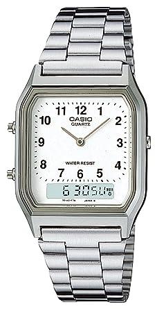 800966dab9 Amazon | [カシオ]CASIO 腕時計 スタンダード AQ-230A-7BMQYJF メンズ ...
