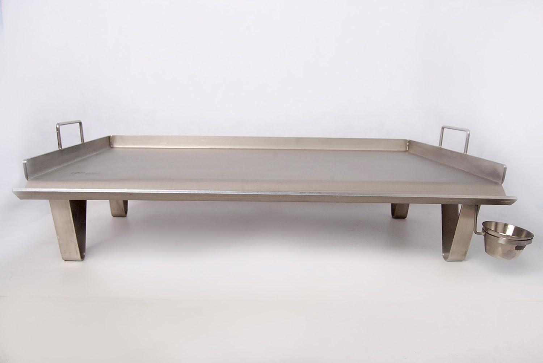 Steel chef Plancha Asar de Acero INOX (500mm)