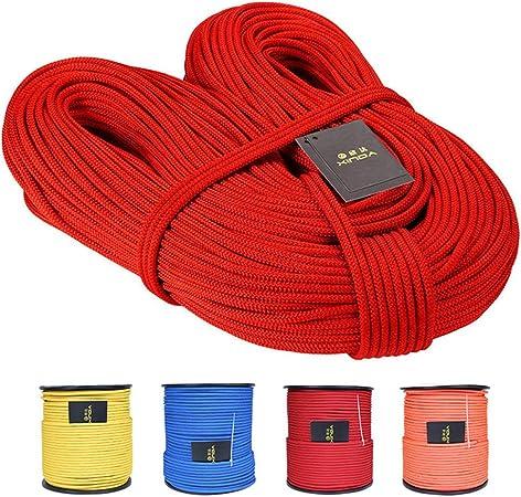 SleenPingst - Cuerda de Escalada Profesional (10 m, 6 mm de ...