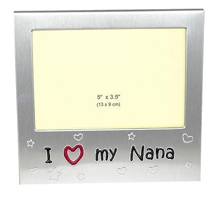 Amazon.com - I Love My Nana \' - Expressions Photo Picture Frame Gift ...