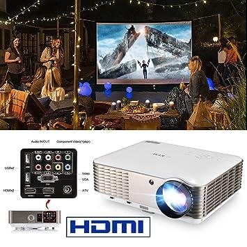 Proyector 4500 lúmenes LCD Nativo LED WXGA Proyectores de Video ...