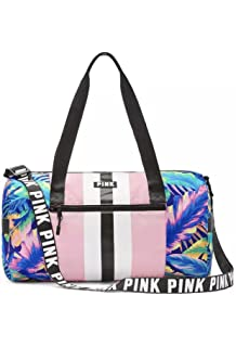 211ef1118879 Victoria s Secret PINK Duffle Gym Bag (Tropical Pink)