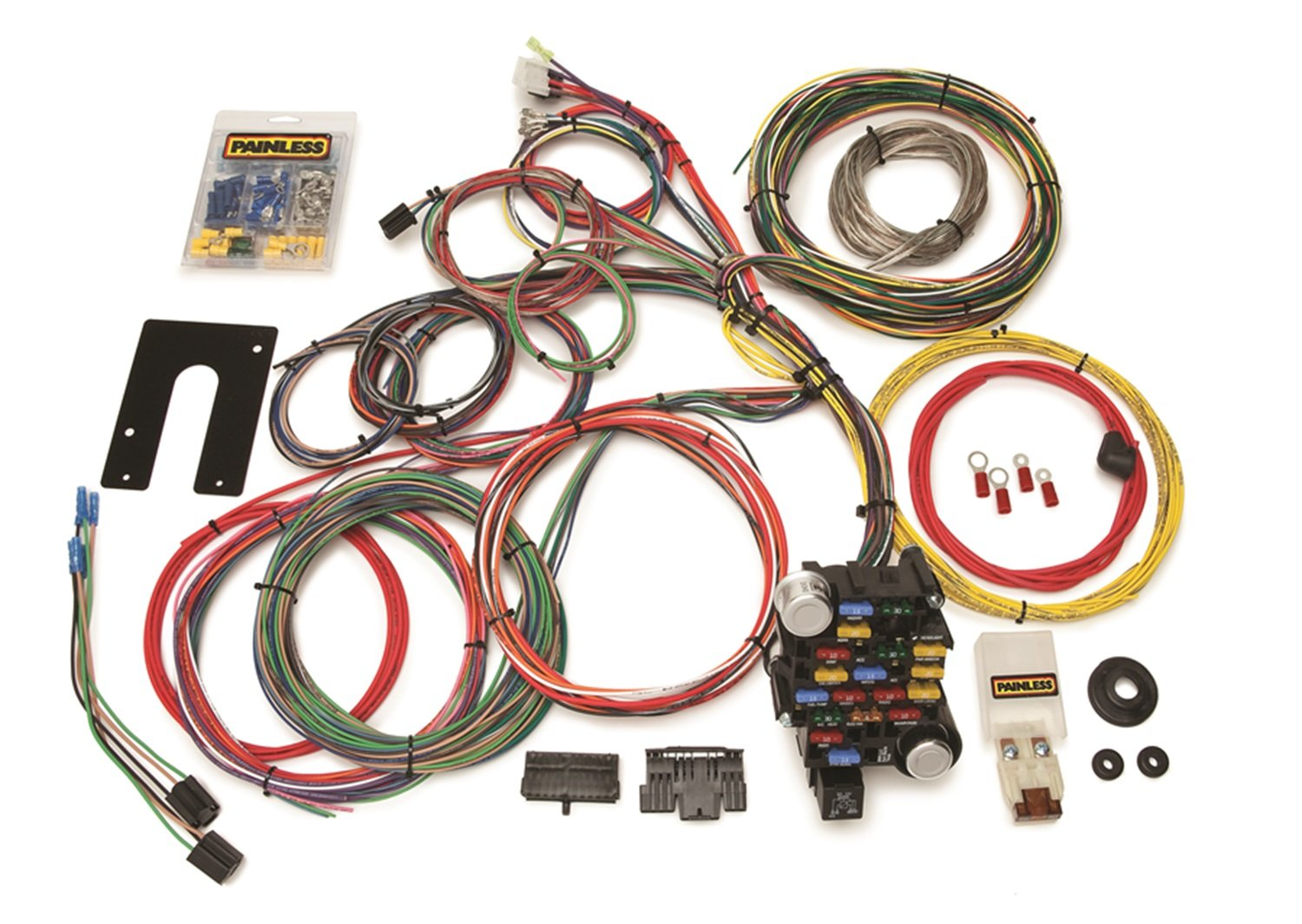 Painless 10201 Universal 18 Circuit Kit Automotive Boeing Wire Harness