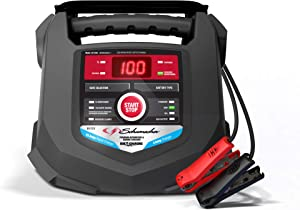 Schumacher SC1280 15 Amp 3 Amp 6V/12V Fully Automatic Smart Battery Charger Maintainer for Marine and Automotive Batteries
