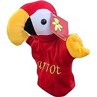Monopoly Hand Puppet - Parrot, Multi Color