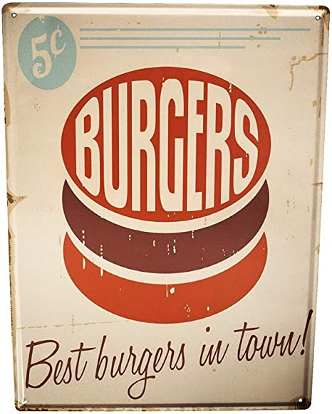 Tin sign wall decor metal bar plaque pub poster rétro home vintage bar 30x40 cm