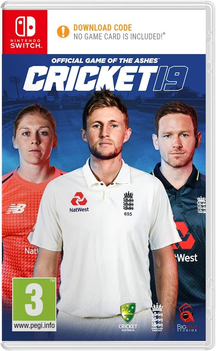 Cricket 19 - The Official Game of the Ashes - Nintendo Switch ...