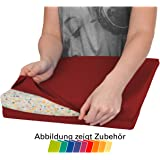 Bezug aus Baumwolle für Sitzkissen Orthopädisch Sitzkeil Keilkissen, 38x38 cm