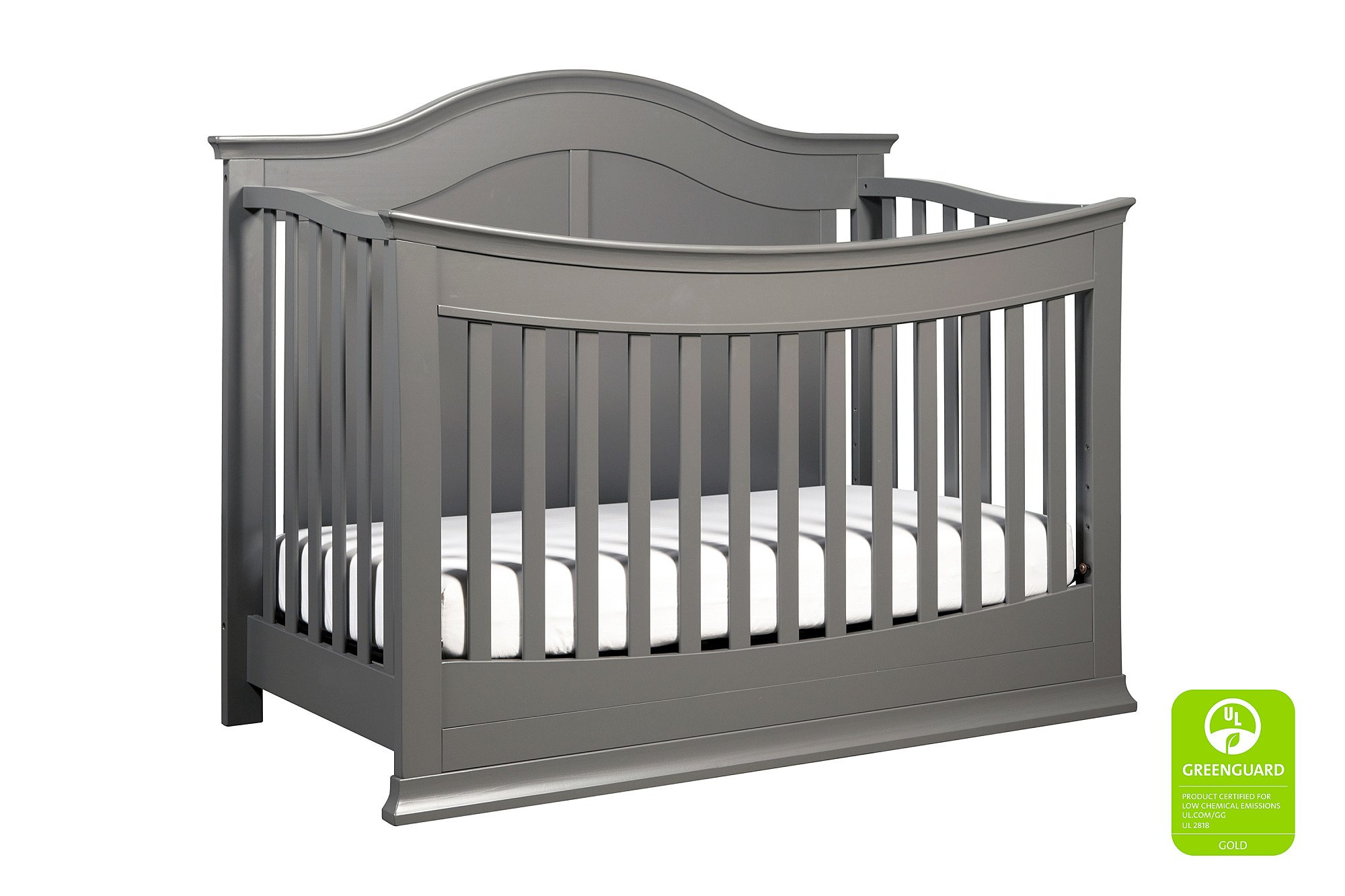 DaVinci Meadow 4-in-1 Crib Full Size Conversion Kit Bed Rails - Slate