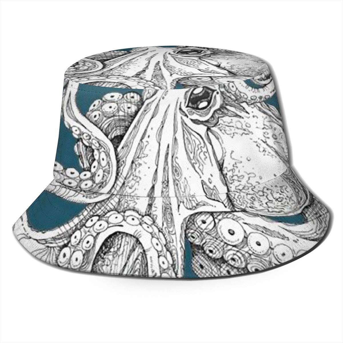 Adjustable Trucker Mesh Cap for Unisex Mens and Womens 100/% Polyester Kraken Octopus Baseball Cap