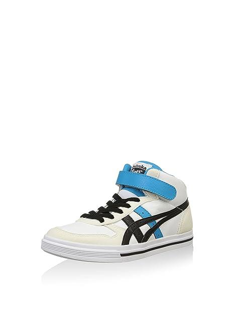 Onitsuka Tiger Zapatillas Aaron MT PS Blanco/Negro EU 31.5: Amazon.es: Zapatos y complementos