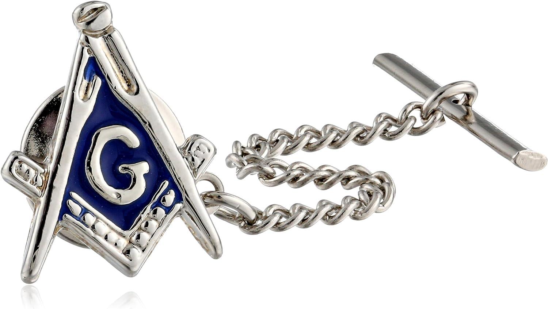 Status Men's Tie Tac Masonic Compass
