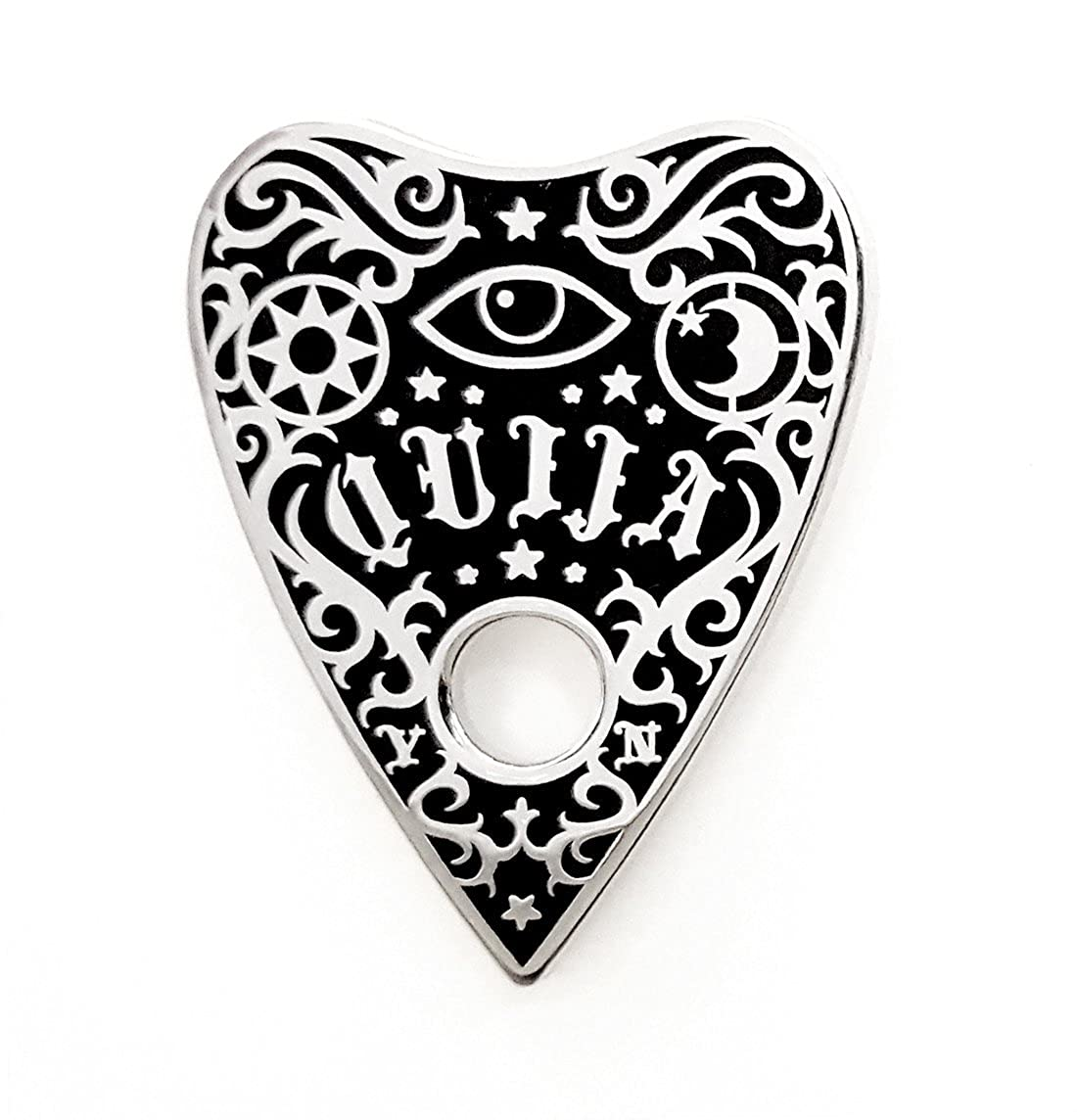 Pinsanity Ouija Planchette Lapel Pin by Pinsanity