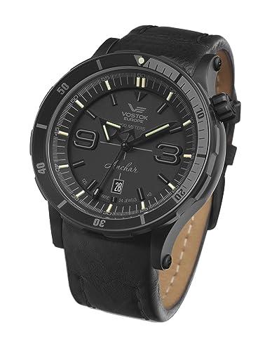 0777113c4b0d Vostok Europe Anchar NH35A-510C553 - Reloj de Pulsera automático para  Hombre  Amazon.es  Relojes
