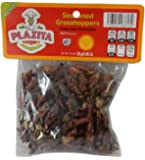 Chapulines Oaxaca (grasshoppers) - Gourmet edible insects from Oaxaca Mexico 30 G - 1.06 Oz (Seasoned)