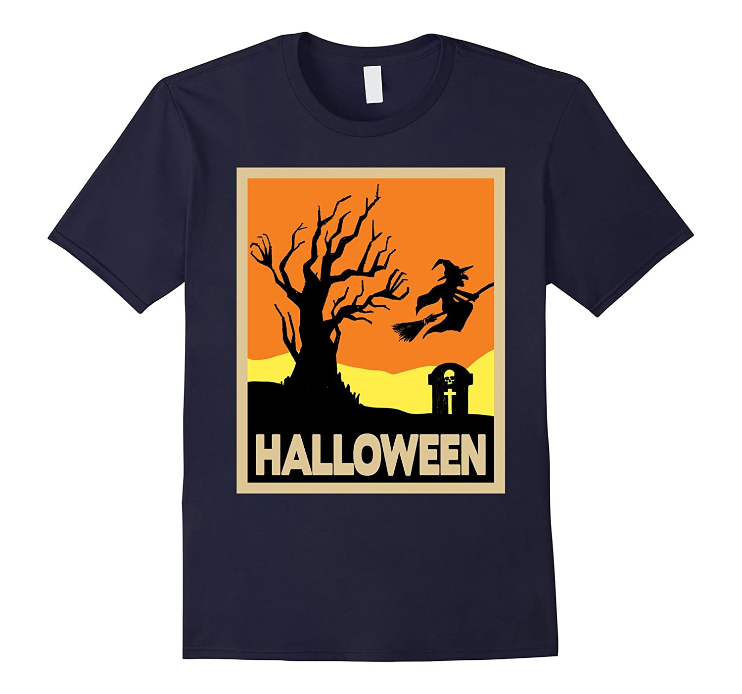 80e150d4 Candy Corn Colored Halloween Vintage Graphic T-Shirt-CL – Colamaga