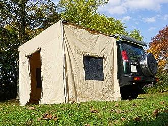Prime Tech Fahrzeug-Markise 150x200x210cm grau auch für Dachzelte