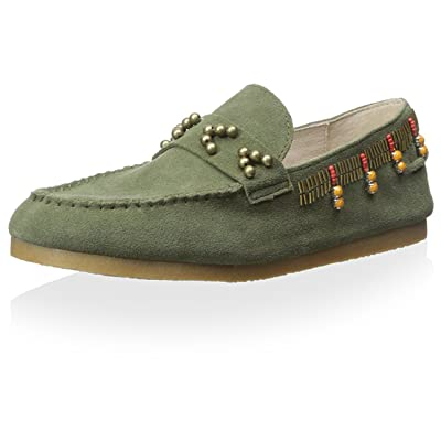 House of Harlow 1960 Women's Shayla Beaded Moccasin: Shoes