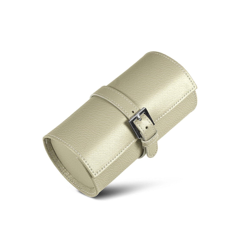 Lucrin - Porta orologi tondo - Fuchsia - Pelle di Capra