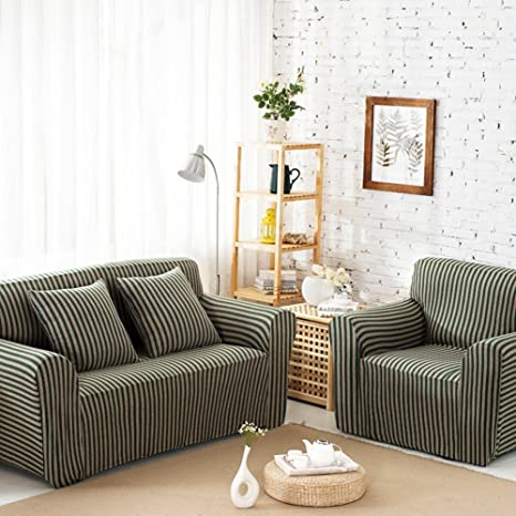 Amazon.com: Cotton Knitted Sofa Cover,Slipcover for Living ...
