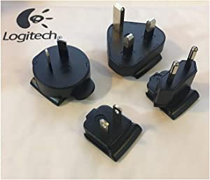 Original Logitech Removable Outlet Plug/Plate for All Squeezebox AC Adapter