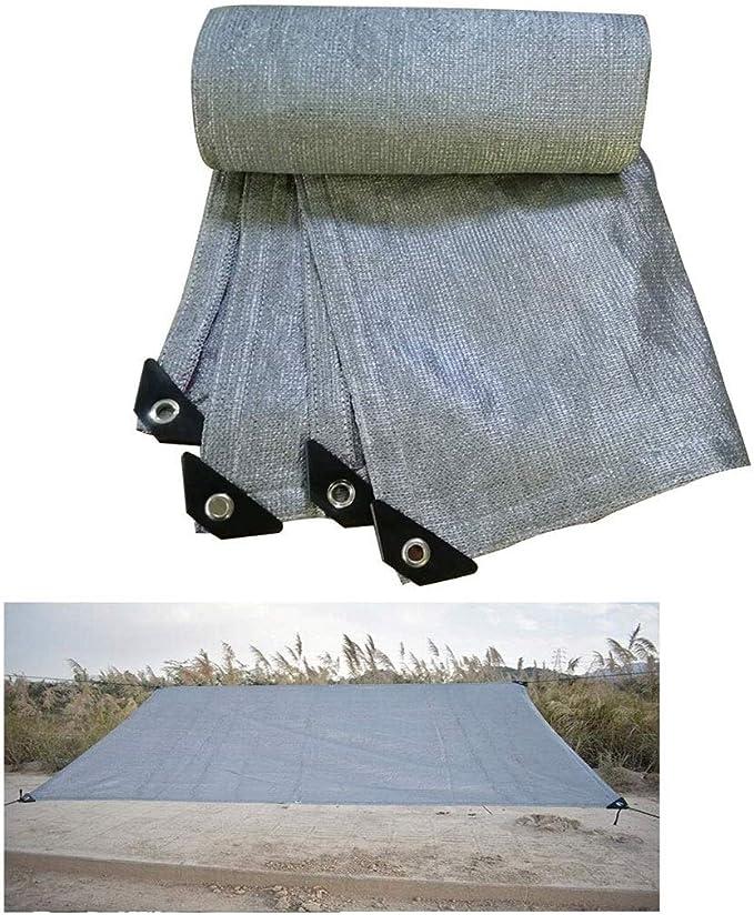 CF-shade Lona de Malla de Aluminio para Proteger del Sol, 70% a 75%, Resistente a los Rayos UV, para Invernadero, Plantas, Borde Sellado, con Ojales incluidos: Amazon.es: Jardín