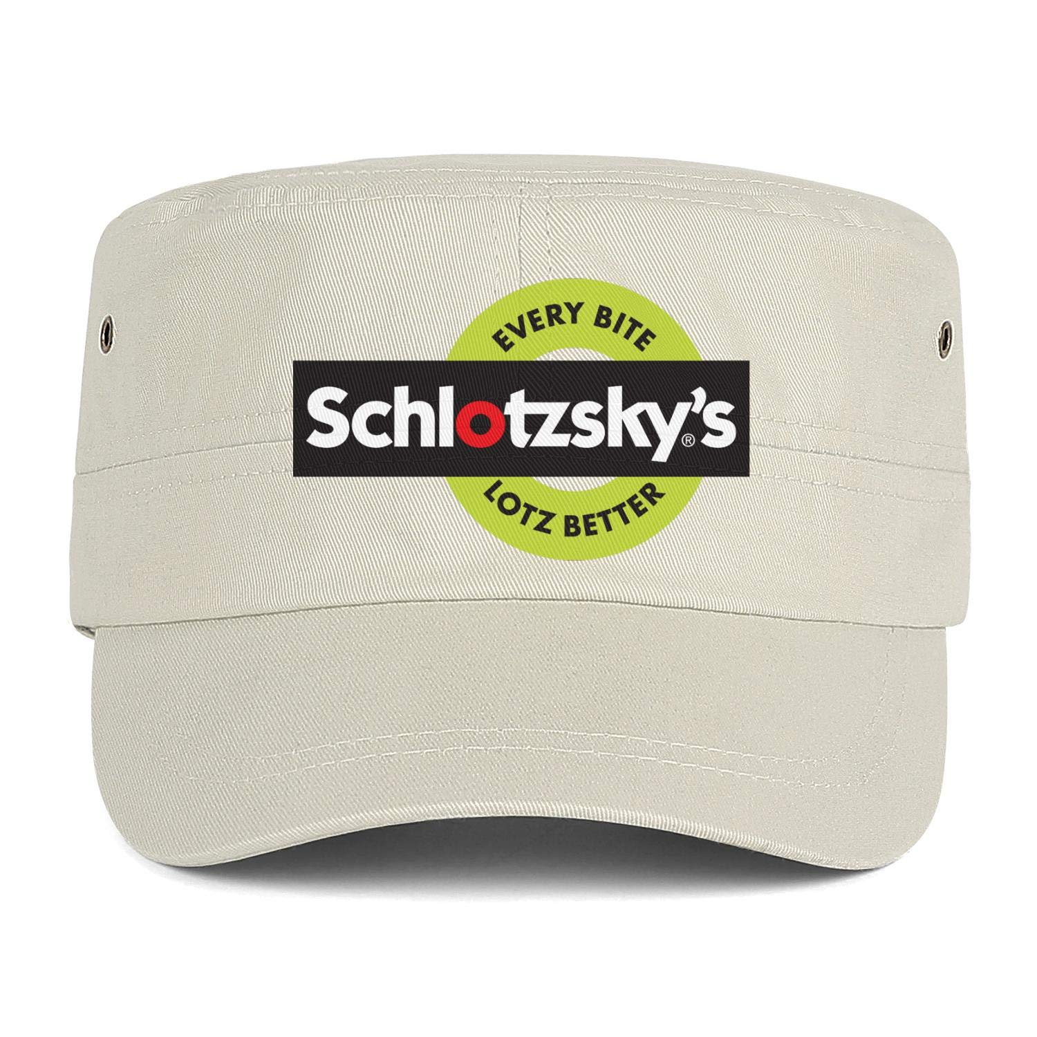 US-Army Schlotzskys Trucker Cap Six Panel Athletic Core Bowler Cap Men Women