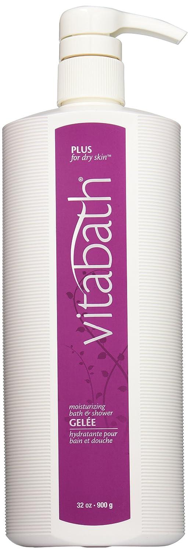 Vitabath Moisturizing Bath & Shower Gelee, Plus For Dry Skin, 32-Ounces : Bath And Shower Gels : Beauty
